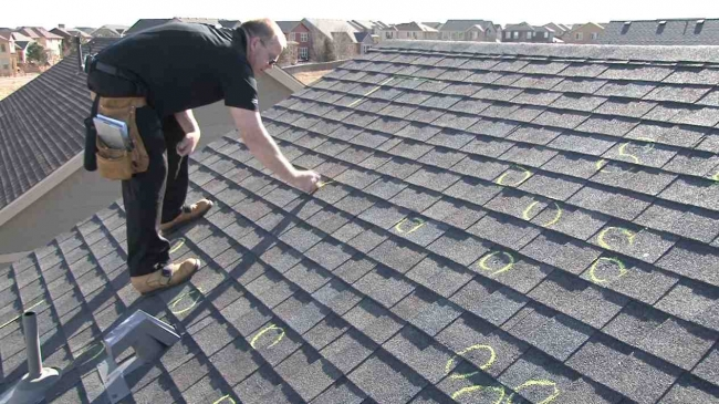 annual roof inspection